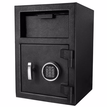 DX-200 Standard Depository Keypad Safe Black 14x14x20""