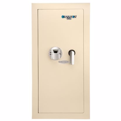 Picture of Large Biometric Wall Safe Left Opening (Beige)