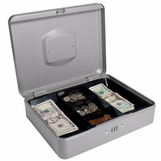 Large Cash Box with Combination Lock