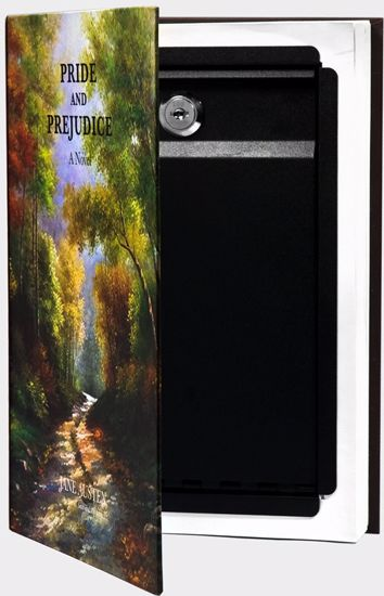 Picture of Hidden Real Book Lock Box By Barska