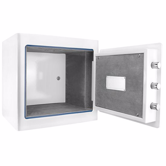 White Keypad Jewelry Safe 1.01 Cubic Ft By Barska
