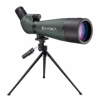 Picture of 20-60x80mm WP Colorado Spotting Scope Straight Green By Barska