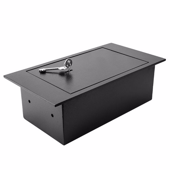 Floor Safe With Key Lock 0.22 Cubic Ft