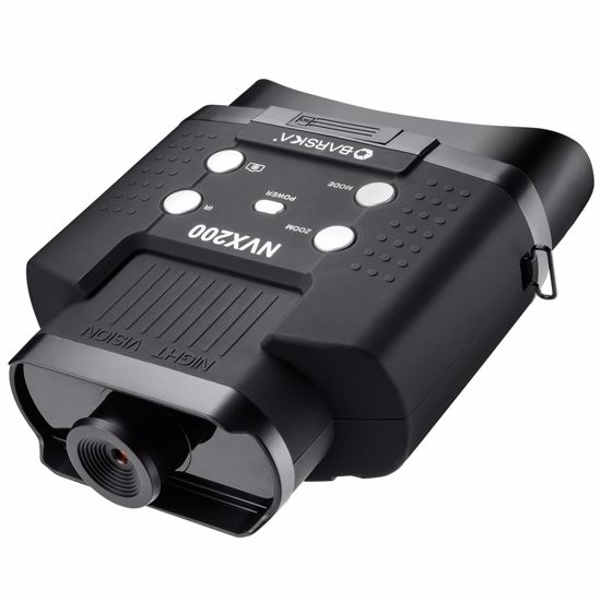 Night Vision NVX200 Infrared Illuminator Digital Binoculars