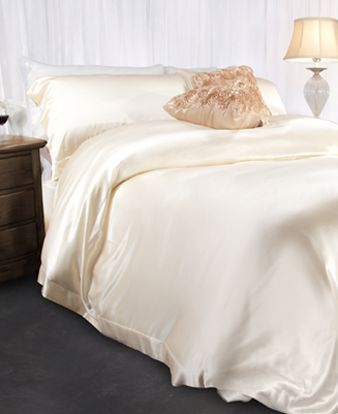 Picture of Aus Vio Silk Duvet Covers - Dawn - King/Cal King Size