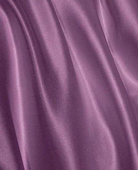 Picture of Aus Vio Silk Flat Sheets - Iris - King Size