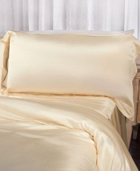 Picture of Aus Vio Silk Pillow Case - Dawn - King / Cal King