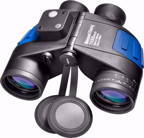 7x 50mm WP Deep Sea Floating Range Finding Reticle Binoculars