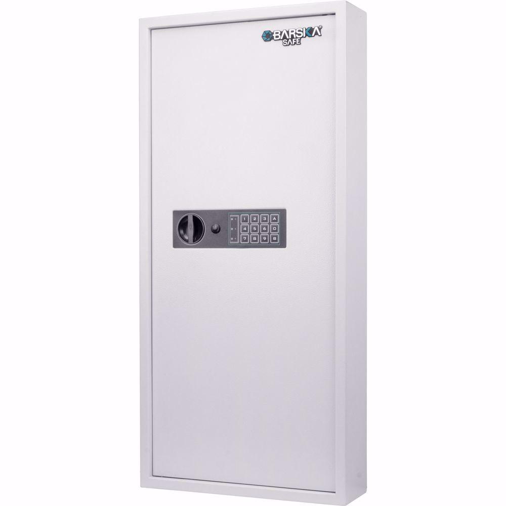 Barska 240 Key Cabinet Digital Wall Safe Ax13368 Barska Com