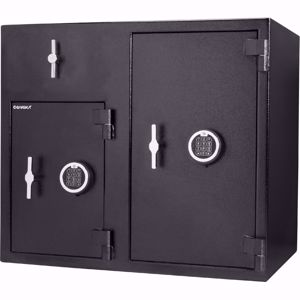 Picture of Large Rotary Two Digital Keypad Depository Safe, 2.58/4.68 Cu. Ft.