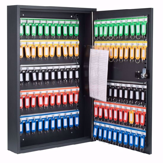 Picture of 100 Position Adjustable Key Cabinet with Combo Lock