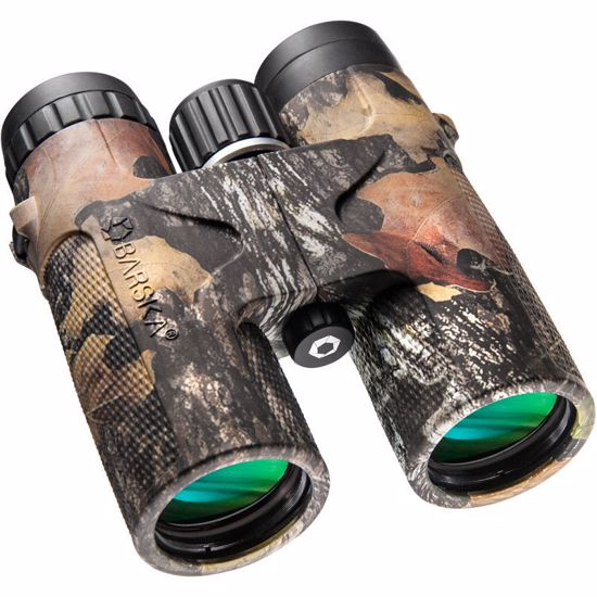 Picture of 10x 42mm WP Blackhawk Mossy Oak® Break-Up® Camo Binoculars Clam