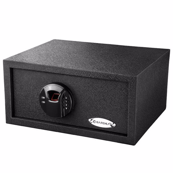 Picture of HQ100 Biometric Keypad Safe w/ Color Box