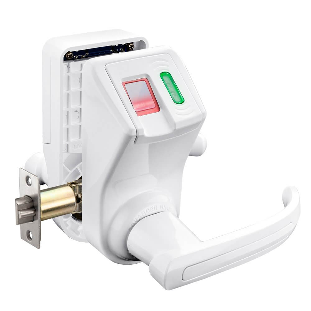 Biometric and RFID Security Door Lock (White) by Barska  sc 1 st  Barska.com & Biometric and RFID Security Door Lock (White) by Barska - Barska.com