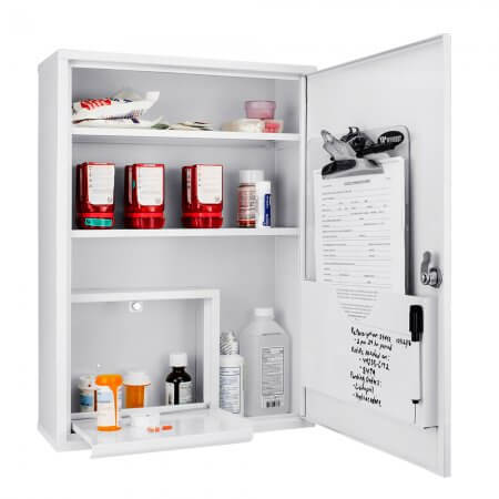 Awesome Large Locking Medicine Cabinet