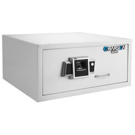 Biometric Fingerprint Safe BX-300 White by Barska