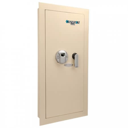 Large Biometric Wall Safe Left Opening By Barska