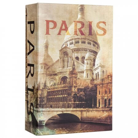 Paris Book Lock Box w/Combination Lock by Barska