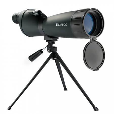 25-75x75mm Colorado Spotting Scope Straight Green By Barska