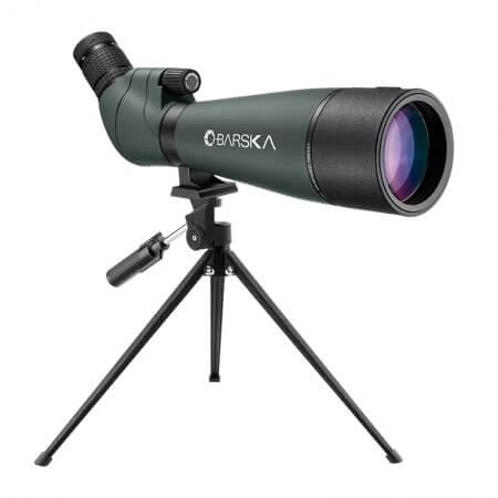 20-60x80mm WP Colorado Spotting Scope Straight Green By Barska