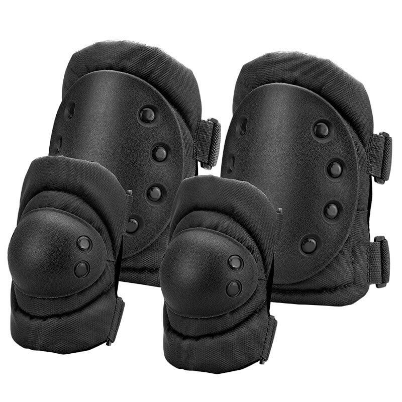 Loaded Gear Cx 400 Elbow And Knee Pads Black By Barska