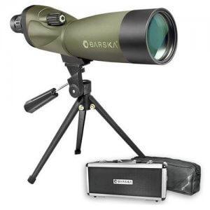 20-60x60mm WP Blackhawk Spotting Scope Straight By Barska