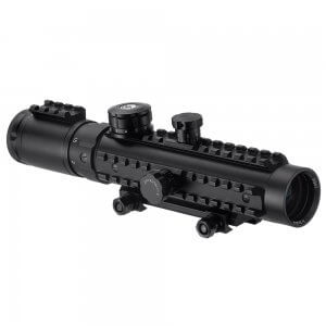 1-3x30mm IR Electro Sight Multi-Rail Tactical Rifle Scope By Barska