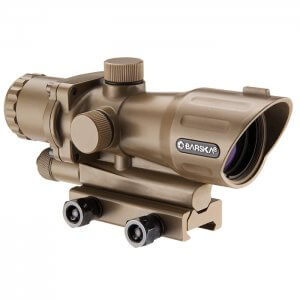 4x32mm IR AR-15/M-16 Electro Sight Tan (FDE) by Barska