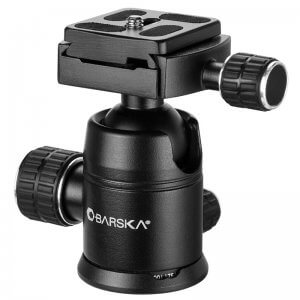 Ball Joint Tripod Head by Barska
