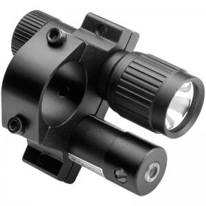 Tactical Red Laser Sight w/ Flashlight and Mount By Barska