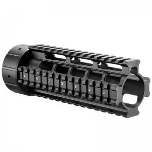 "AR 6.75"" Free Float Quad Rail by Barska"
