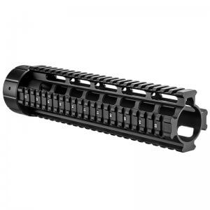 "AR 10"" Free Float Quad Rail by Barska"