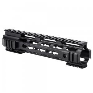 AR KeyMod 10 inch Handguard with Rails by Barska