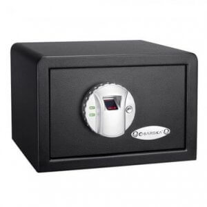 Compact Biometric Security Safe with Fingerprint Lock