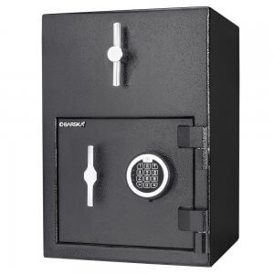 1.15 Cubic Ft Rotary Hopper Depository Safe by Barska