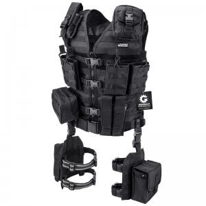 Loaded Gear VX-100 Tactical Vest and Leg Platforms