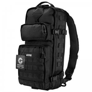 Loaded Gear GX-300 Tactical Sling Backpack (Black) BI12026