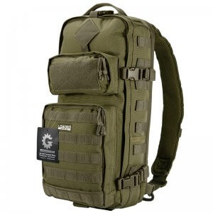 Loaded Gear GX-300 Tactical Sling Backpack (OD Green)