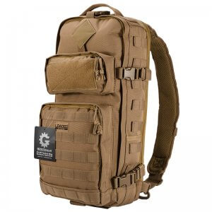 Loaded Gear GX-300 Tactical Sling Backpack (Dark Earth) BI12340