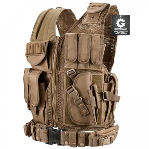 Loaded Gear Tactical Vest VX-200 Tan (Dark Earth)