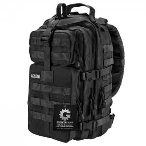 Loaded Gear GX-400 Crossover Tactical Backpack (Black) BI12602