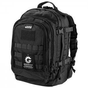 Loaded Gear GX-500 Crossover Tactical Backpack (Black) BI12612