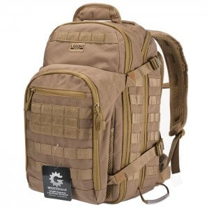 Loaded Gear GX-600 Crossover Tactical Backpack (Dark Earth)