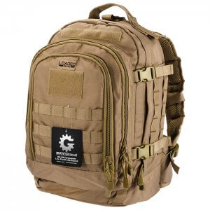 Loaded Gear GX-500 Crossover Tactical Backpack (Dark Earth) BI12614