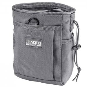 Gray Loaded Gear Tactical Dump Pouch