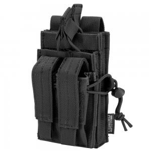 Loaded Gear CX-950 Dual Stacked Rifle and Handgun Mag Pouch (Black)