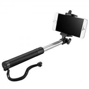 XD-10 Selfie Stick w/ Built-In Bluetooth Shutter