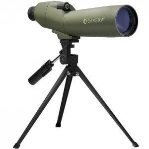 20-60x60mm WP Colorado Spotting Scope Straight Green By Barska