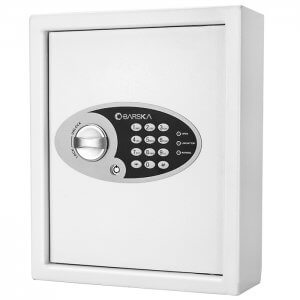 BARSKA 48 Key Cabinet Digital Wall Safe AX12658