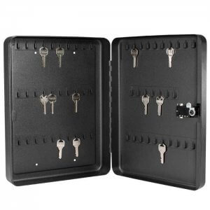 57 Position Key Cabinet with Combination Lock